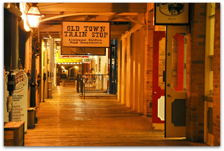 Old Sacramento by Myrl Jeffcoat