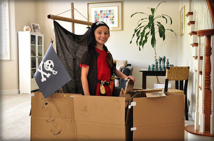 Macie's Pirate Ship